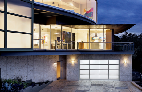 Contemporary garage doors photo