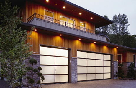 translucent garage doors