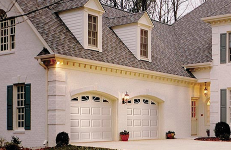 affordable white garage doors