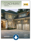 Insulated steel garage doors - Coachman