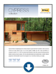 woodgrain textured garage - Cypress Garage Door Brochure