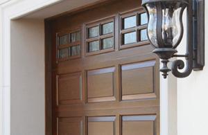 handcrafted wood doors